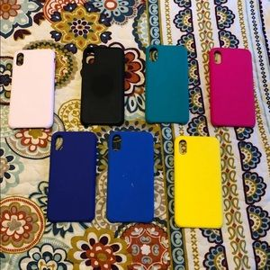 iPhone X/XS Silicone Cases